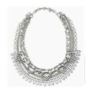 Stella & Dot Silver Sutton Necklace